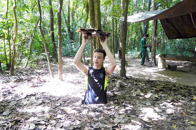 Ho Chi Minh City: Cu Chi Tunnels Top Site By Speedboat