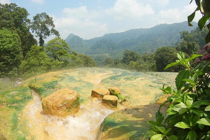 Hike through Java jungle and explore waterfalls, lakes and local culture