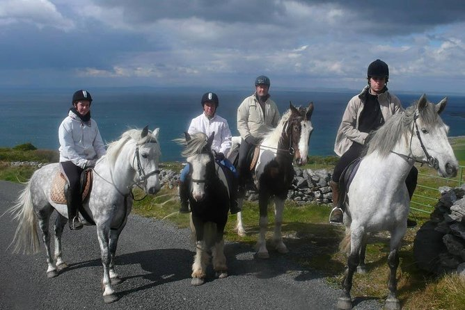 Horse riding - Mountain Trail. Lisdoonvarna, Co Clare. Guided. 2 hours.