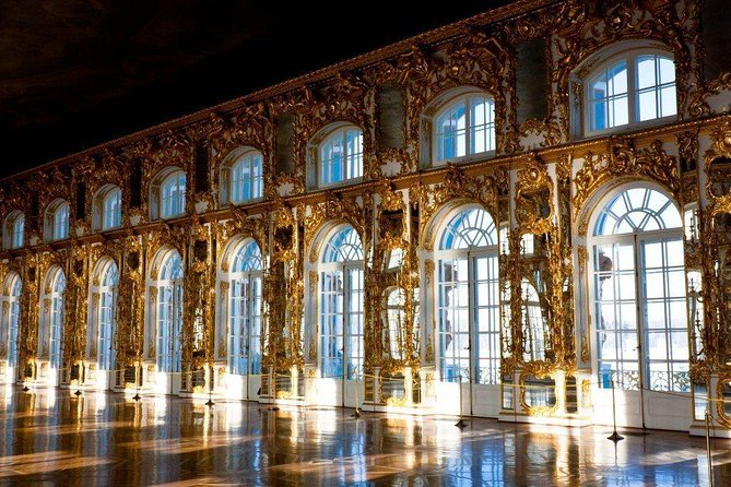 Private tour to the Catherine Palace with the Amber Room and its workshop photo 3
