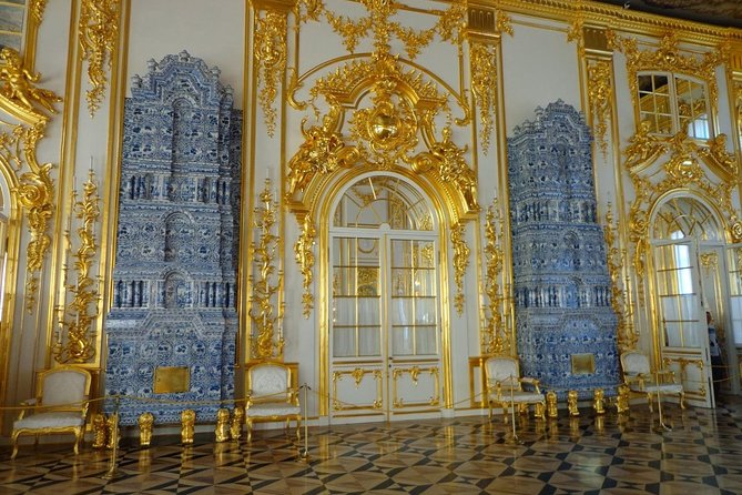 Private tour to the Catherine Palace with the Amber Room and its workshop photo 16
