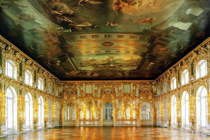 Private tour to the Catherine Palace with the Amber Room and its workshop photo 17