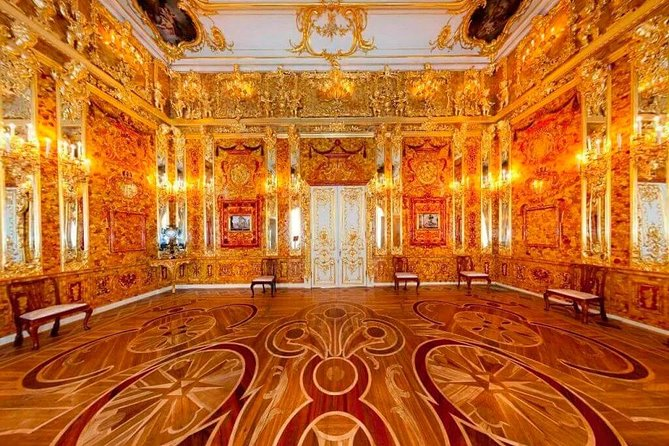 Private tour to the Catherine Palace with the Amber Room and its workshop photo 12