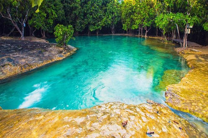 Hot Spring Waterfall and Emerald Pool Half Day Tour from Krabi