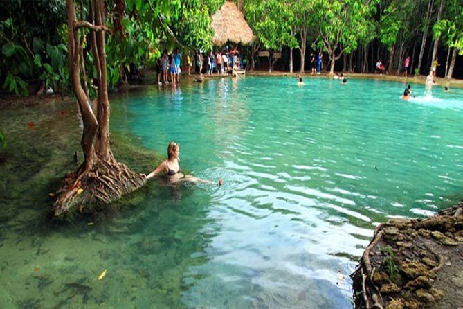 Hot Spring Waterfall and Emerald Pool Half Day Tour from Krabi photo 10