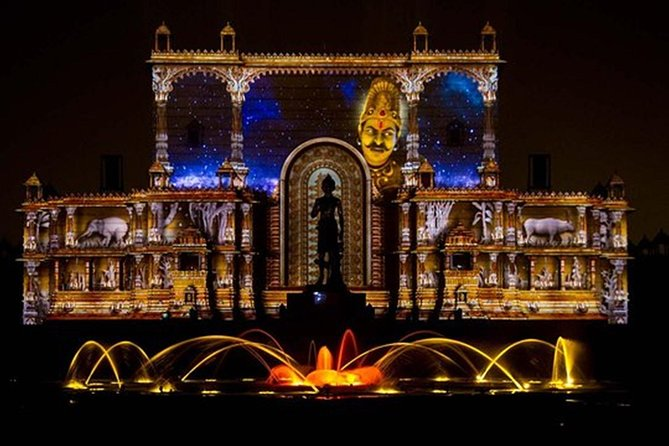 Akshardham Temple Evening Tour with Musical Fountain