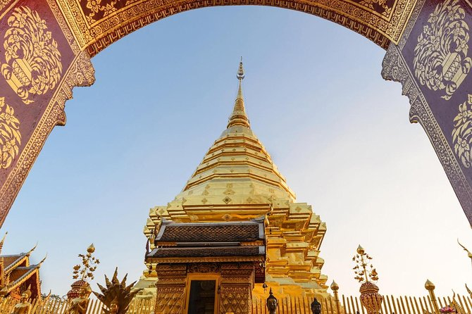 Chiang mai: Join tour Half Day Tour to Doi Suthep Temple + Baan Meo photo 3