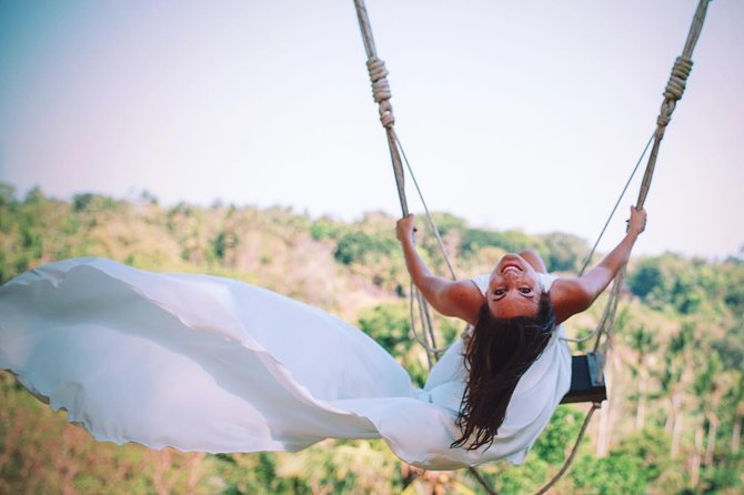Jungle Swing Experience in Ubud