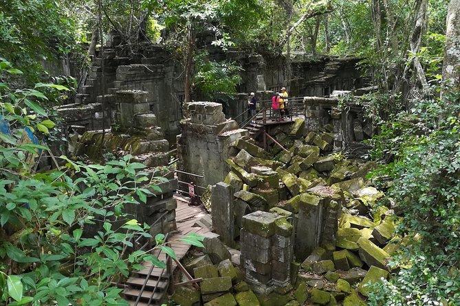 Beng Melea, Banteay Srey and Banteay Samre Tour