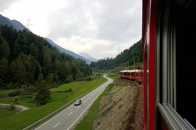 Full Day Bernina Train Tour from Milano