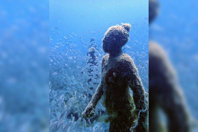 CERTIFIED DIVERS 2 dives - Atlantic Museum + Las Coloradas in Lanzarote