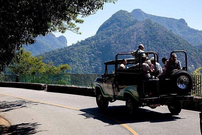 Tijuca Forest Jeep Tour - Rio de Janeiro