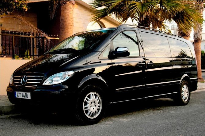 Taxi transfer Larnaca airport To any hotel in Ayia Napa up to 6 passengers photo 1