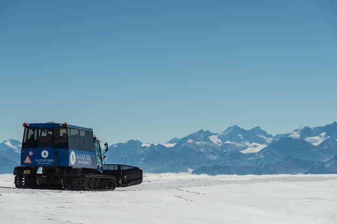 Glacier 3000 Gold private tour