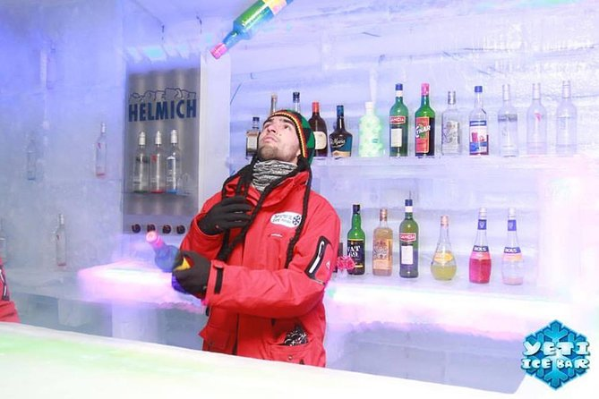 Yeti Ice Bar!