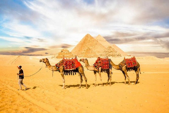 Half-Day Cairo Sightseeing Tour to Pyramids of Giza & Sphinx photo 1