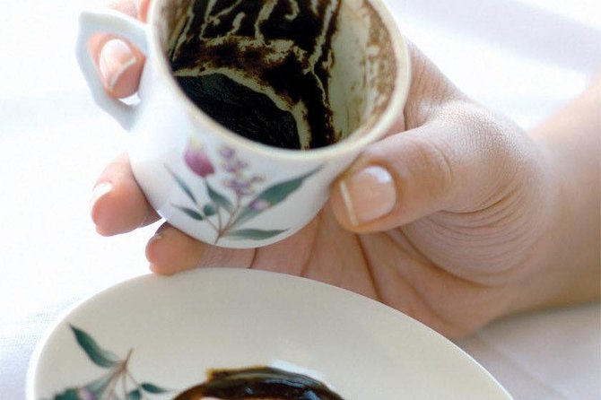 Turkish coffee reading fortune-telling