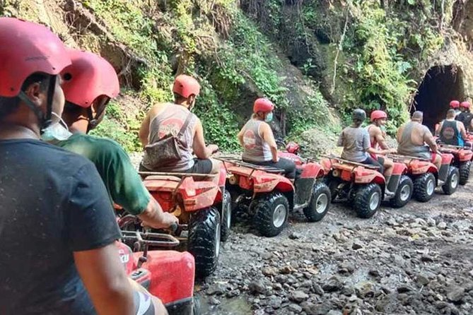 Bali ATV Quad Bike Pass by Waterfall and Tunnel&White WaterRafting All-Inclusive