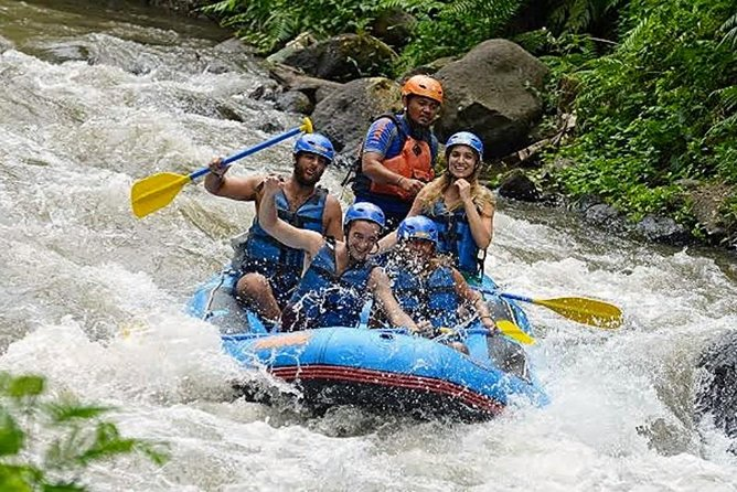 Bali Rafting with Private Ubud Tour