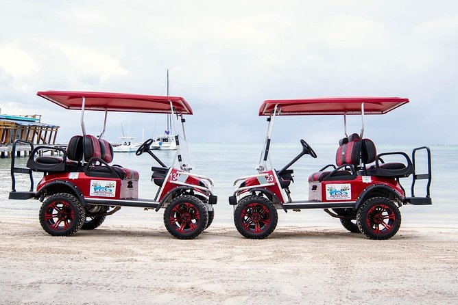 Golf Cart Rental by Group of 2 - 4 Seater