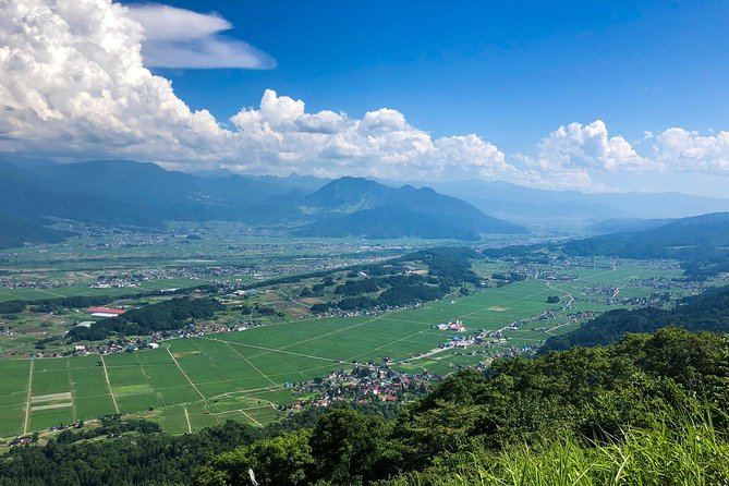 Iiyama Mountain Panorama Viewing Tour