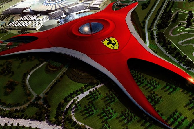 Abu Dhabi City Tour with Ferrari World Tour from Dubai‎