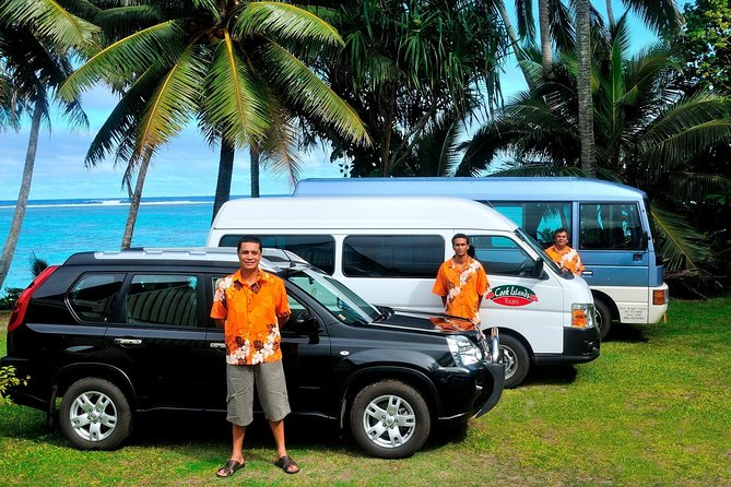 We have a range of different vehicles to customize your trip.