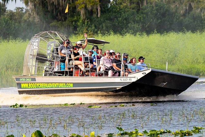 30-Minute Airboat Ride near Orlando