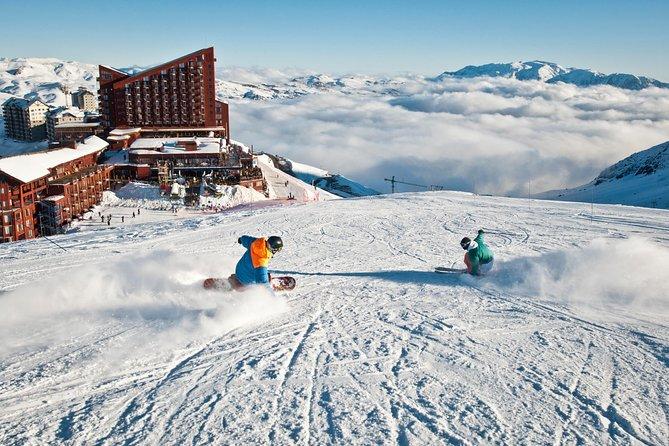 Full Day to Valle Nevado Ski Center from Santiago