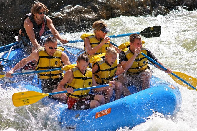 Raft the Colorado River through Glenwood Springs - Half Day Adventure