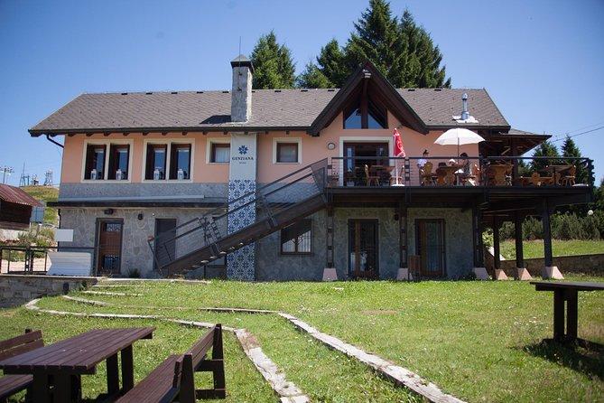 Lake Maggiore - mount Mottarone - typical hut