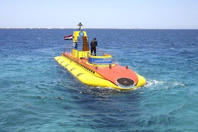 Sindbad Submarine Amazing Adventurer Under Water up to 20 meter - Hurghada