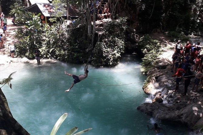 Jump and Tube - Blue Hole and Tubing from Ocho Rios