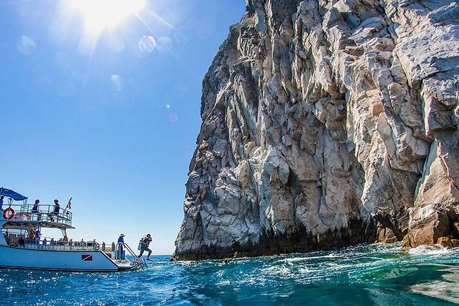 Diving in the Los Cabos Arch