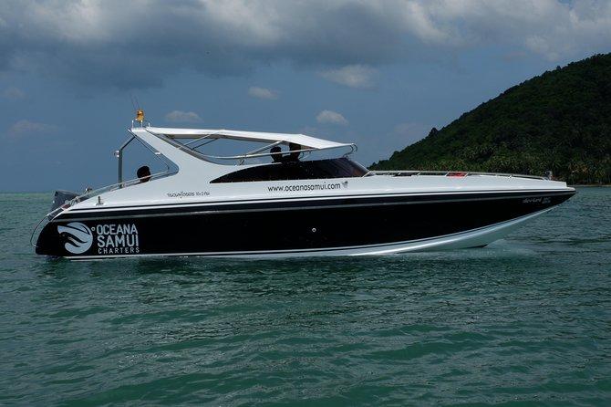Private Seven Islands Speedboat Charter