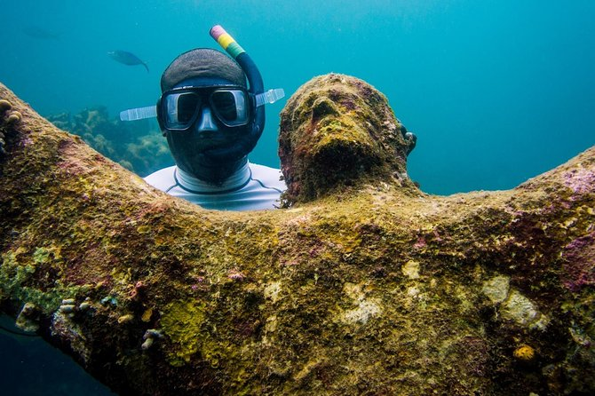4 Hour: Double Dip Snorkel Trip at The World's Famous Underwater Sculpture Park!