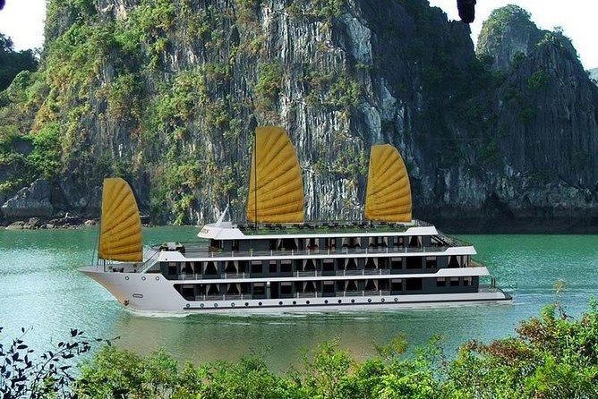 Rosy Cruise 5 Star - Ha Long Bay & Lan Ha Bay 2 Days 1 Night Tour