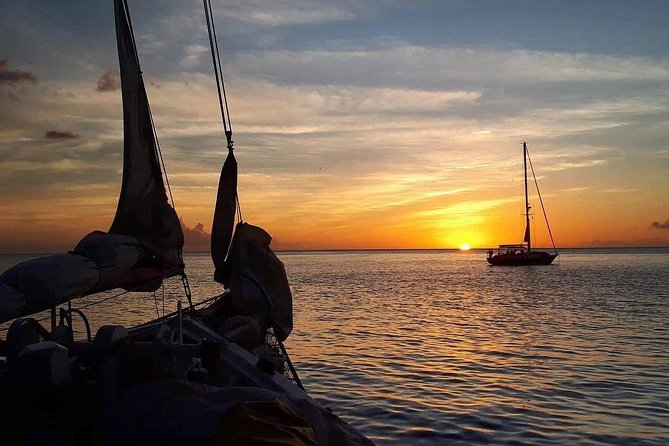 Half Day Sail N' Dine with Pickup and Guide at St George's, Grenada