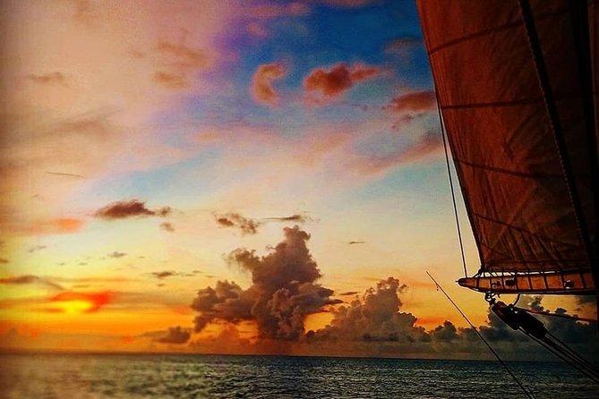 Private & Romantic sunset cruise under sails