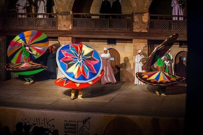 Wekalt ElGhouri and Tanoura Show Tour by Night in Cairo