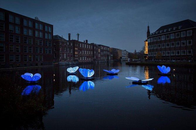 Private boat tour Amsterdam Light Festival