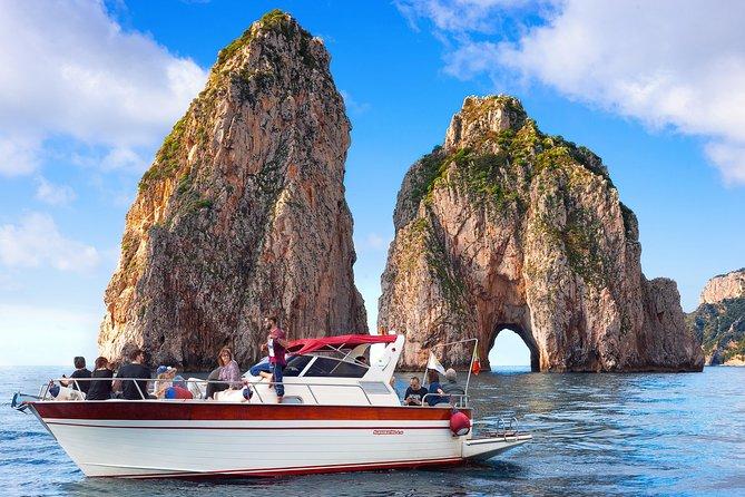 Capri swim, fun & Blue Grotto - small group half day tour