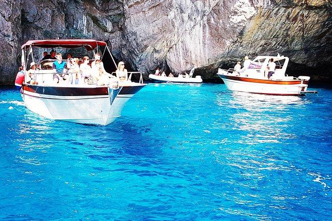 Capri fun,swim & Blue Grotto - half day tour