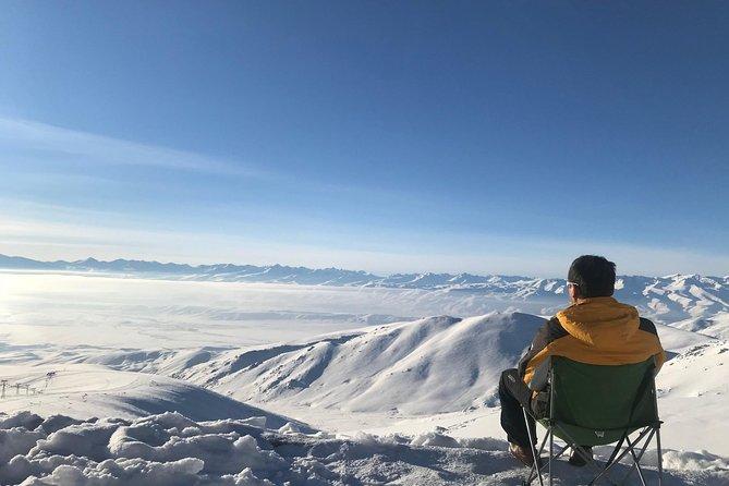 Suusamyr valley from the Ski resort @ 3000 mtrs