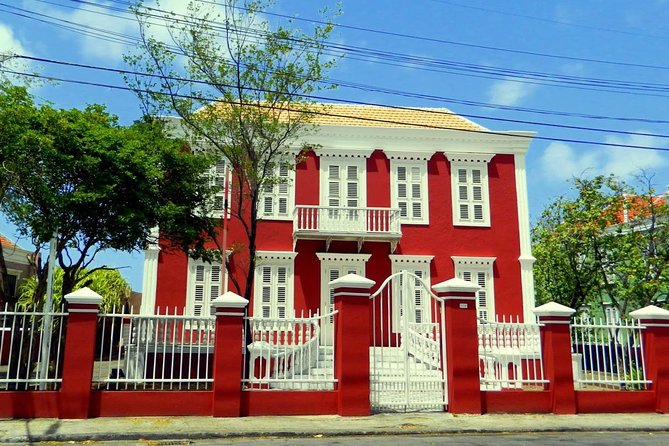 Curacao City, Shop and Beach Tour
