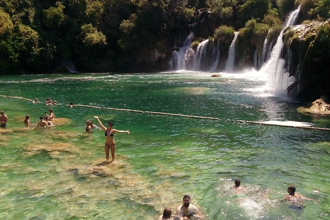 Krka Private Tour: from Split with Trogir
