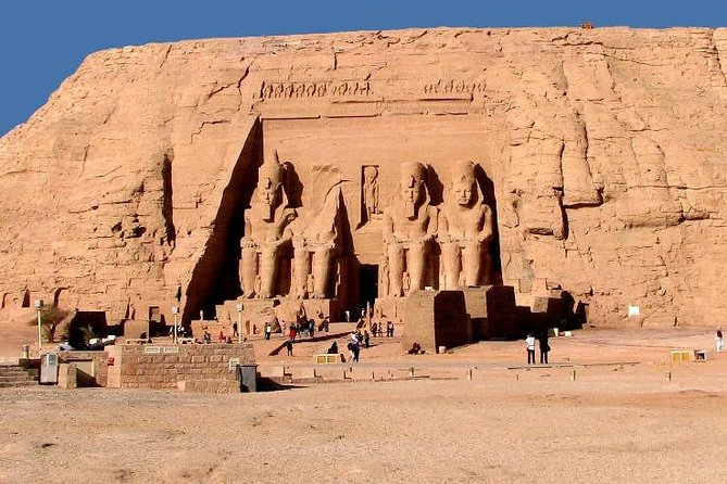 Trip to Abu Simbel by a Car