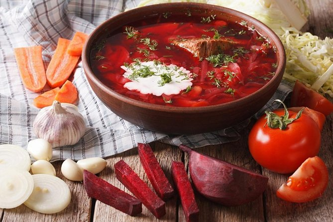 Private Cooking Class: Borsch and Beef Stroganoff