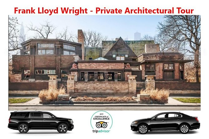 Frank Lloyd Wright Architectural Tour - Private Luxury Vehicle - All Inclusive photo 1
