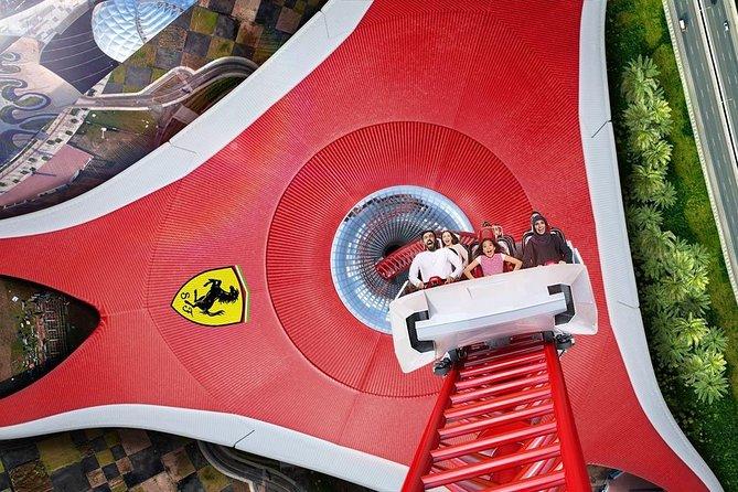 Ferrari World AD / Unlimited Fun & Breathtaking Experience